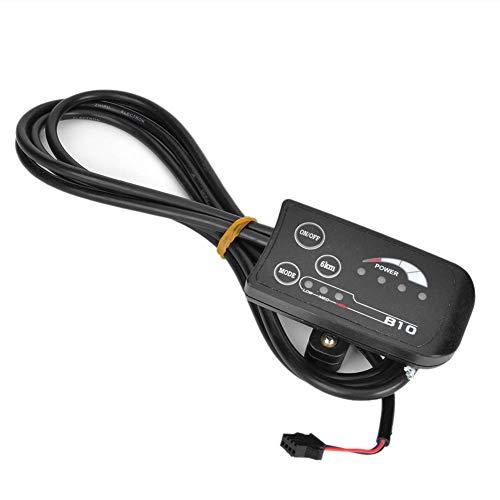 Panel de control de pantalla LED Bicicleta eléctrica 810 LED Display Con panel de control de cable de 4 hilos