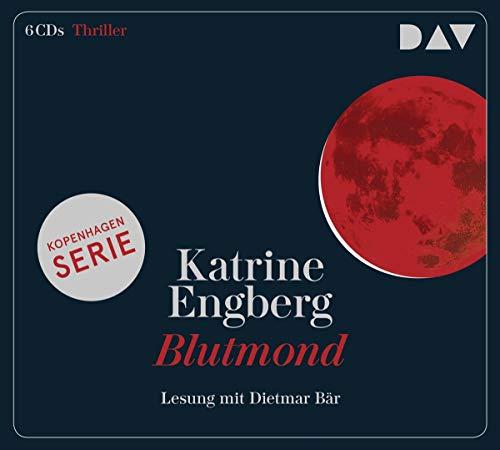 Blutmond – Ein Kopenhagen-Thriller: Lesung mit Dietmar Bär (6 CDs) (Kørner & Werner)