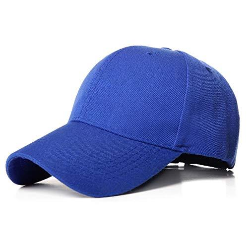 YUANCHENG Gorra de béisbol para Hombre Sombreros de Verano para Mujer Gorra Deportiva Sombreros Unisex Transpirables, Azul Real