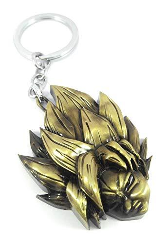 dragon ball z keychain gold