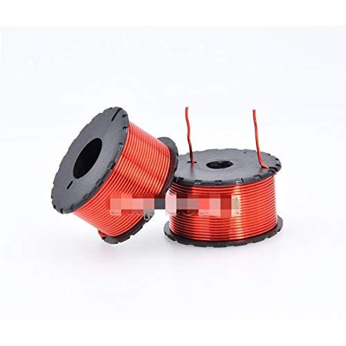 Jgzwlkj Inductor 1 unids 0.8mm 0.1mh-1.0mh Amplificador de Audio Altavoz Crossover Inductor 4n Bobina de Alambre de Cobre sin oxígeno # RED2 (Color : 1.0mH)