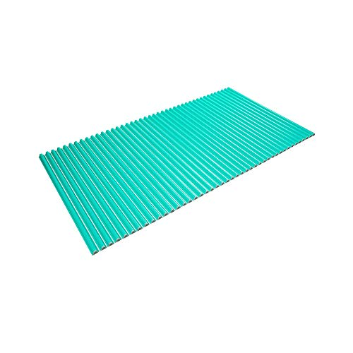 東プレ シャッター式風呂ふた 波型 カラーウェーブ 75×140cm グリーン L14