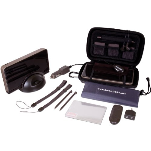 Nintendo DSi XL 20 in 1 Starter Kit - Bronze