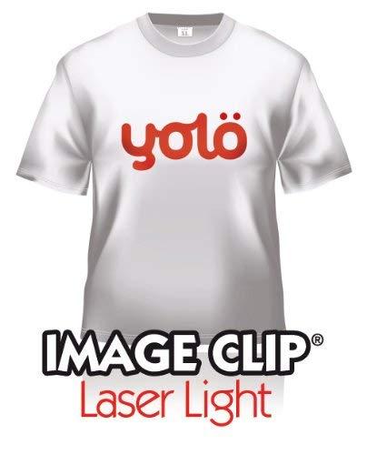 yolö creative 10 fogli x a3 di image transfer clip® laser light self-sarchiatura calore carta t-shirt/trasferimenti