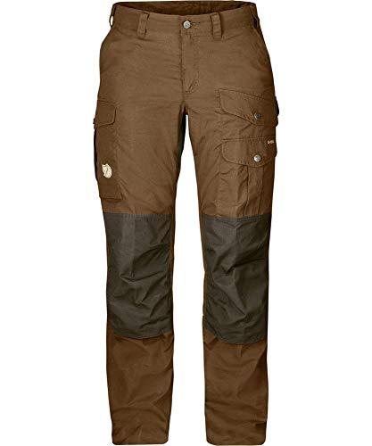 FJALLRAVEN Damen Barents Pro Trousers W Hose, dunkler Sand - dunkeloliv, 38