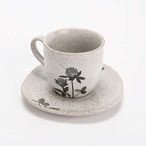 Amadeus - tasse café avec sous-tasse faustine (lot de 8)