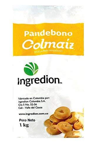 Kolumbiańska mieszanka do pieczenia bułek serowych, Colmaiz, worek 1 kg.