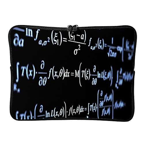 Normal Funny Mathematical Formula Quadrant Laptop Bags Casual Multifunctional - Love Math Laptop Briefcase Suitable for Work
