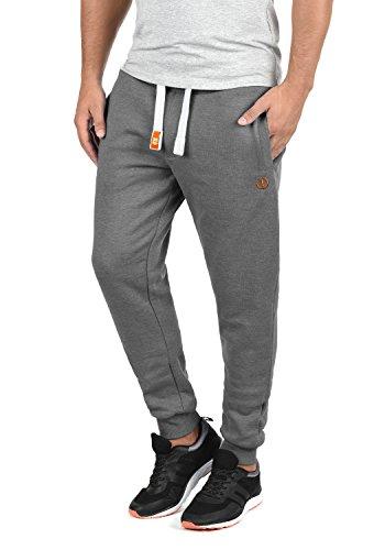 !Solid BennPant Herren Sweatpants Jogginghose Sporthose Mit Fleece-Innenseite Und Kordel Regular Fit, Größe:XL, Farbe:Grey Melange (8236)