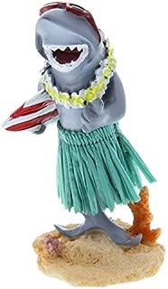 KC Company Limited Mini Hula Surfboard Shark Smiling Dashboard Doll