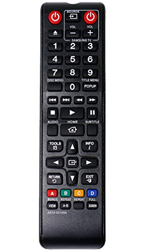 ALLIMITY AK59-00149A Ersetzen Fernbedienung für Samsung Blu-ray BD-E5200 BD-E5300 BD-E5500 BD-F5100 BD-F5500 BD-H5500 BD-H5900 BD-J4500 BD-J5500 BD-J5700 BD-J5900 BD-JM57C TM1241