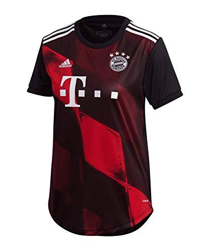 adidas Damen Trikot 20/21 Fc Bayern 3RD Jersey, Black, M, FR4003