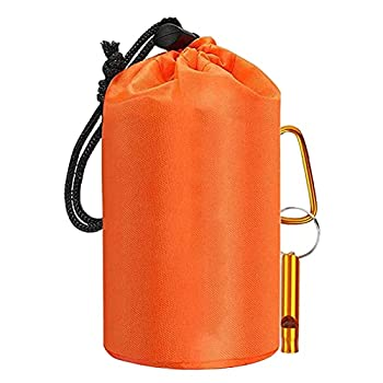 Asotagi Sac de couchage de survie, 4 pièces/jeu de sacs de couchage d'urgence, couverture de secours réutilisable pour le camping en plein air, la randonnée