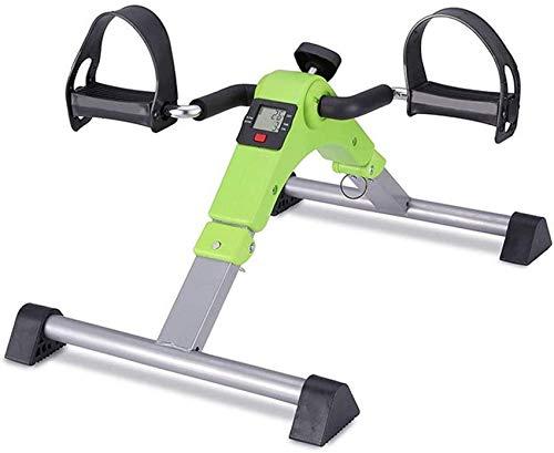 LJYY Bicicleta de Ejercicio de Ciclo de Escritorio para ejercitador de Pedal estacionario con Monitor LCD Plegable RunningMachine1121