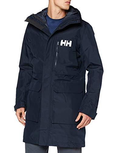 Helly Hansen Rigging Coat Abrigo, Hombre, Navy, S