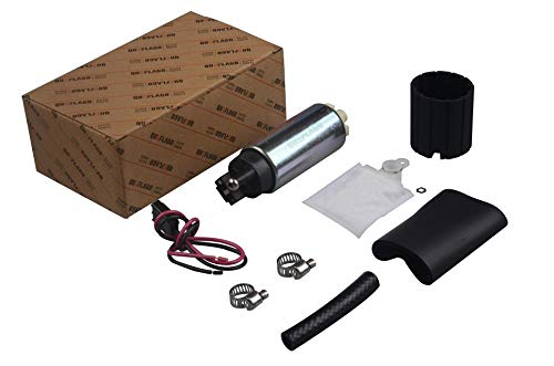 New Performance 255LPH Electric Fuel pump 1pc with Installation kit for aftermarket replacement GSS342