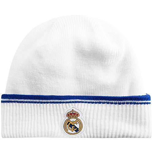 Gorro Blanco Azul Marino Real Madrid Infantil