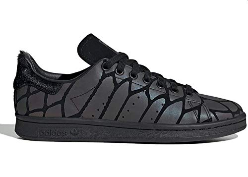 adidas Mujer Stan Smith W Zapatillas Negro, 40 2/3