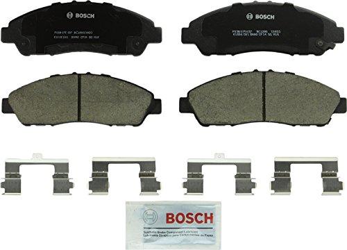 Bosch BC1280 QuietCast Premium Ceramic Disc Brake Pad Set For: Acura MDX, ZDX; Honda Pilot, Front