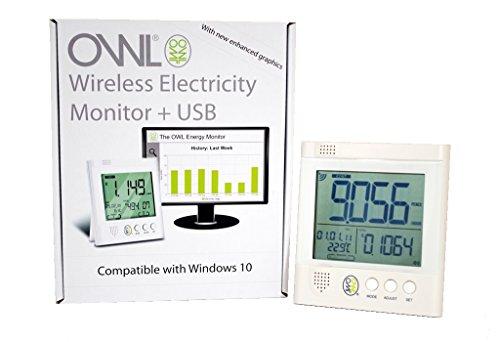 Owl CM160 - Medidor de Consumo eléctrico con USB inalámbrico