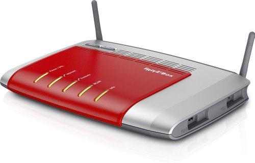 AVM Fritz Box 7272 20002607 Wlan Router (ADSL, 450 Mbit/s, DECT-Basis, Media Server geeignet für Annex-J-Anschlüssen der Deutschen Telekom)