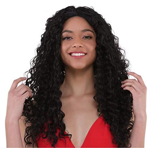 Lucas peluca Bresilienne 360Lace frontal frisé Ripple Curly Remy Cabello Natural Encaje Con Pelo Bebé alrededor nacimiento de los Cabello Natural para mujer densidad 130% 8–24Inch