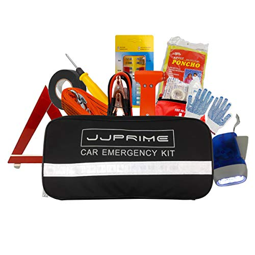 WSS - Set of 12 Ultimate Car Safety Driving Travel Kit Emergency Breakdown...