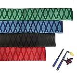 Aventik Heat Shrink X-Tube Wrap Fishing Rod Building Handle Cork Grip Repair Tubing Tube Sleeving Wrap Wire 40'' (30mm-Green)