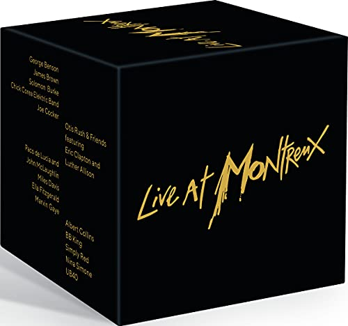 Live at Montreux - Collector´s Edition (15 DVDs)
