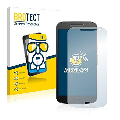 BROTECT Panzerglas Schutzfolie kompatibel mit Motorola Moto G4 Plus - 9H Extrem Kratzfest, Anti-Fingerprint, Ultra-Transparent