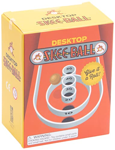 desk top skee ball game desk office gift for coworkers