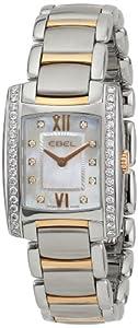 EBEL Women's 1215922 'Brasilia' Stainless Steel Two-Tone Watch