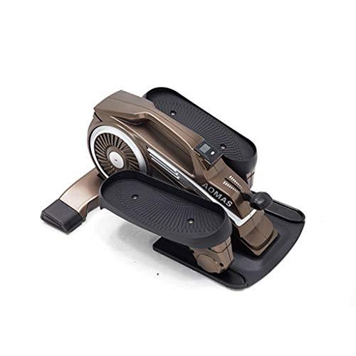 Stepper Máquinas de Step Ejercicio Pedales de Bicicleta, Brazo y Pierna Trainer, Mini Bicicletas, Bicicletas de Ejercicio Interior, casero Portable Pedal ejercitador, Ideal for el fortalecimiento