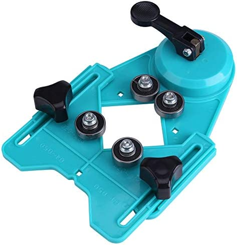 Drill Bit Hole Saw Guide Jig Fixture Adjustable Drill Guide Hole Locator with Vacuum Base Sucker product image