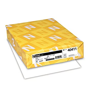 white cardstock paper 8 5x11