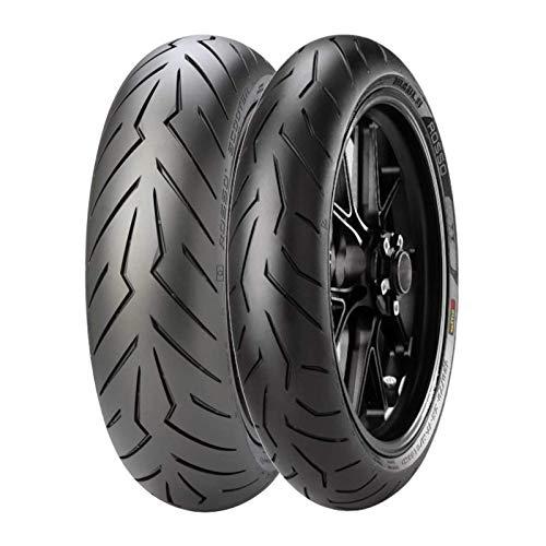 Accoppiata gomme Pirelli Diablo Rosso 2 120/70 R 17 58H Scooter 160/60 R 15 67H - X-ADV 750