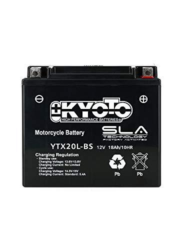 Kyoto - Batería lista para Yamaha XVS 1300 A MIDNIGHT