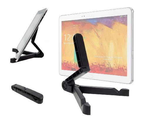 DURAGADGET Pied/Stand de Support Compact Pliable & inclinable pour Samsung Galaxy Note 10 Edition 2014 Tablette 10,1\