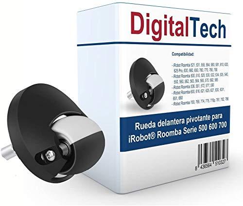 DigitalTech® - Rueda Delantera pivotante Compatible para Ro