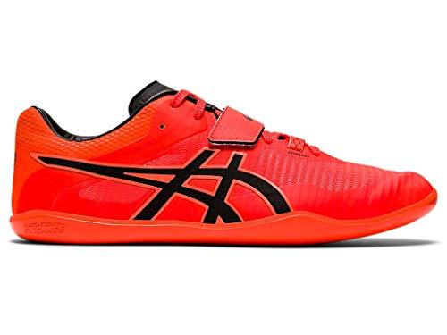 ASICS Unisex Throw Pro 2 Track & Field Shoes, 12W, Sunrise RED/Black