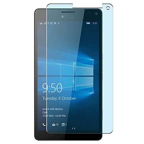 Vaxson 4 Unidades Protector de Pantalla Anti Luz Azul, compatible con Microsoft Lumia 950 XL 950XL [No Vidrio Templado] TPU Película Protectora