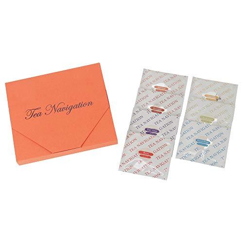 【ギフト包装】紅茶ギフトセット ティーバッグ 最高級品質 TEA NAVIGATION 7種7包入り ハーモニー(オレンジ)