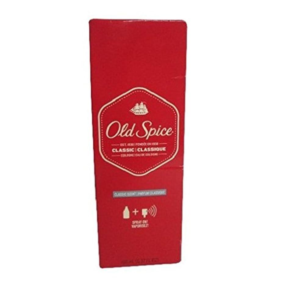 波紋複雑血まみれOld Spice Eau de Cologne Splash, Classic - 6.375 Oz (並行輸入品)