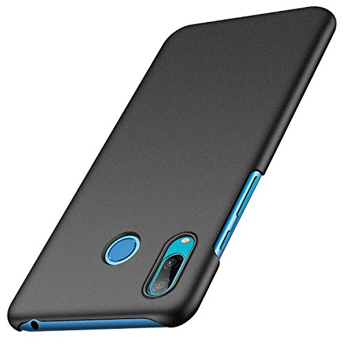 Anccer Compatible for Huawei Y6 2019 Case [Colorful Series] [Ultra Thin Fit] Hard Slim Cover for Huawei Y6 2019 (Gravel Black)