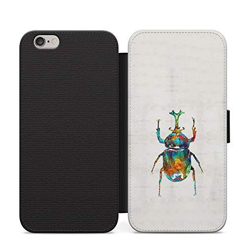Beetle Art Aztec Awesome - Funda de piel para teléfono de Honor 10 Lite