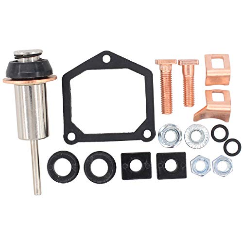 MOTOKU Starter Solenoid Rebuild Repair kit Plunger Spring Contact for Dyna Electra Glide Fatboy Heritage Softail Springer Road King Big Twin Sportster 1200 883