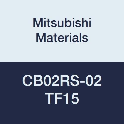 Non-Coated Mitsubishi Materials CB04RS-02 TF15 CB Series Carbide Micro-Mini Twin Boring Bar without Breaker Right 4 mm Shank Dia 60 mm Length 0.2 mm Radius