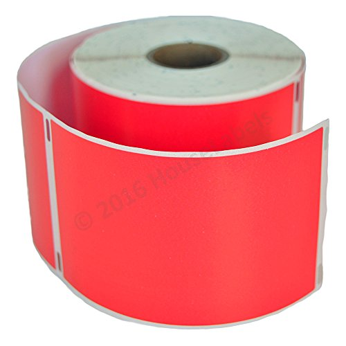 """HOUSELABELS Compatible DYMO 30256 RED Shipping Labels (2-5/16"""" x 4"""") Compatible with Rollo, DYMO LW Printers, 1 Roll / 300 Labels per Roll Photo #4"""
