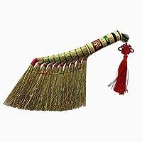 YJFENG わらほうき掃除ベッドほこり小さい屋内用手作り伝統的な柔らかいナチュラルいいえ静的ありません (Color : #A)