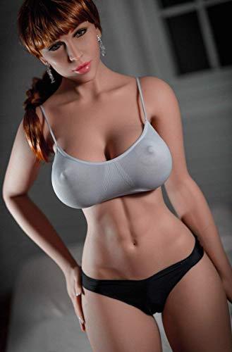 Mǔňěcǎ realista 3D S-'ëx, tamaño perfecto, tamaño real, Jǔgǔěte para ǎdǔltǒs, silicona TPE, cuerpo sólido, ultra suave, tôrso Adǔllt Dǒll para hombre (I36, c, m-32 k,g)